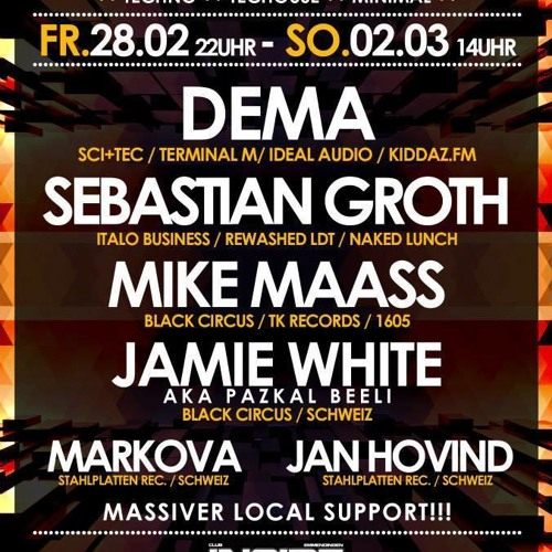 (3h Free DJ Set)  Sebastian Groth - Inside Emmendingen 01.03.14