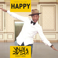 Pharrell Williams Happy (Vaux & Rivera Remix) Artwork