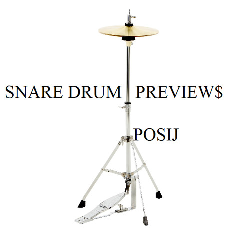 listening to some of my snares aka snare previews