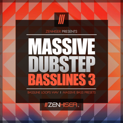 Massive Dubstep Basslines 3 - Royalty Free Wav Dubstep Basslines & Massive Dubstep Bass Presets