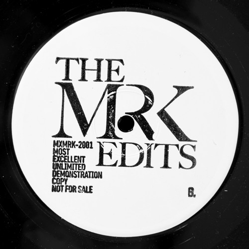 "The Mr. K Edits - Baby Doll / Heavy Vibes [MXMRK-2001] 12"" Preview (128k)"