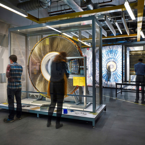 Big Science - Collider exhibition event