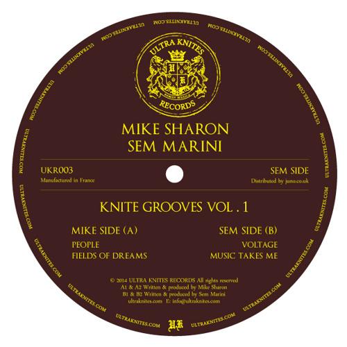 UKR003 :: Mike Sharon / Sem Marini - Knite Grooves Vol. 1 EP