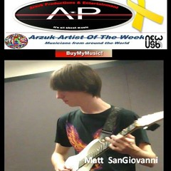 Purple Haze  Cover Song By Matt SanGiovanni
