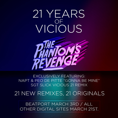 Sgt Slick - White Treble, Black Bass (The Phantom's Revenge Remix)