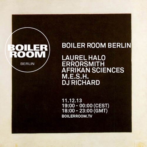 Errorsmith 60Min Boiler Room Berlin Mix