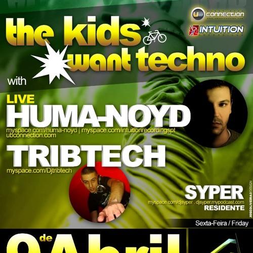 TRIBTECH @ TheKidsWantTECHNO - Alcantara Club (Lisboa - PT) 09/04/2010