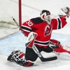Martin Brodeur Playoff Goal April 17, 1997 against Montreal Canadiens