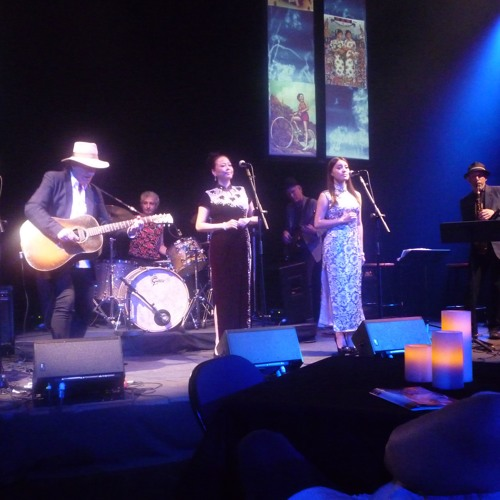 """""""The Mad World""""--Gary Lucas & Gods and Monsters w/ Mo Hai Jing live"""