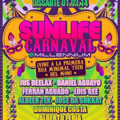 Jus Deelax @ Sunlife Carnaval 01.03.14 (Millenium)