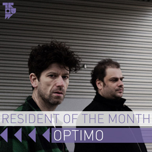 Optimo - Resident of the Month Podcast March 2014