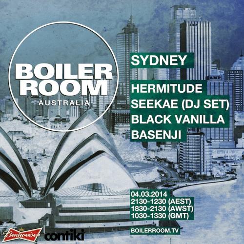 Boiler Room Sydney Basenji
