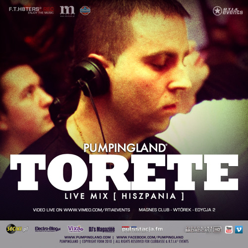 Pumpingland - Magnes Club #2 [Torete Live Audio Mix]