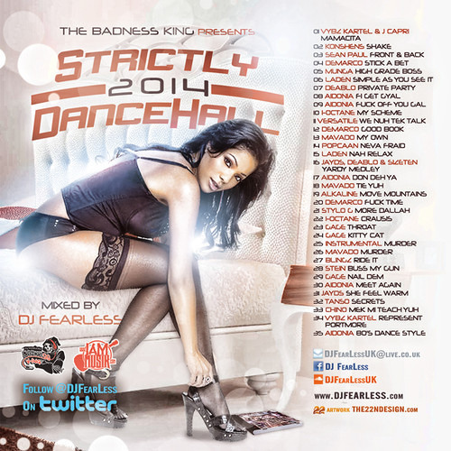 Dj Fearless - Stictly 2014 Dancehall