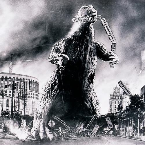 Godzilla Doesn't Want To Brush His Teeth