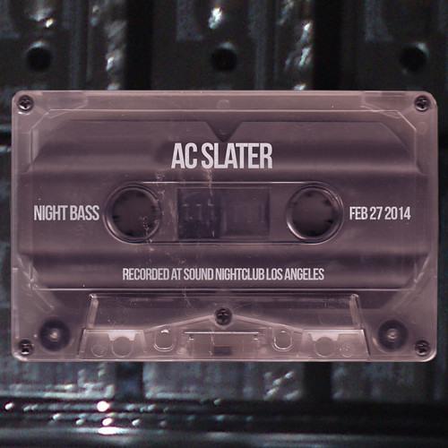 AC Slater @ Night Bass - Sound Nightclub, LA - 2.27.14