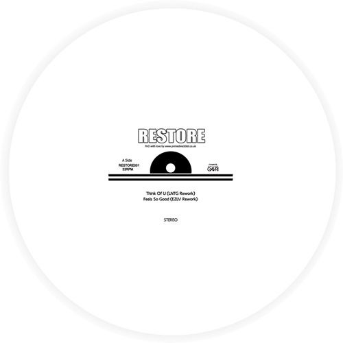 Late Nite Tuff Guy, EZLV, Jean Claude Gavri & Dean Sunshine Smith - Restore - Vinyl Only - 17.3.14