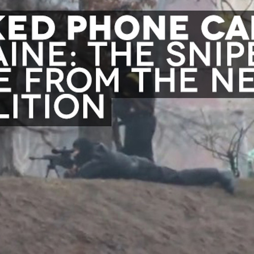 Estonian Foreign Minister Ukraine Snipers Were From The New Coalition