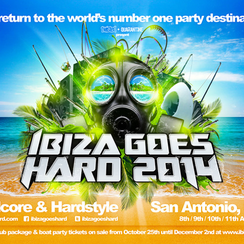 Infexious Hardstyle Podcast 052 - The Geminizers - Ibiza Goes Hard 2014 Warm-Up #2