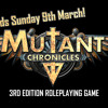 Mutant Chronicles Beta Test Audio Episode 1