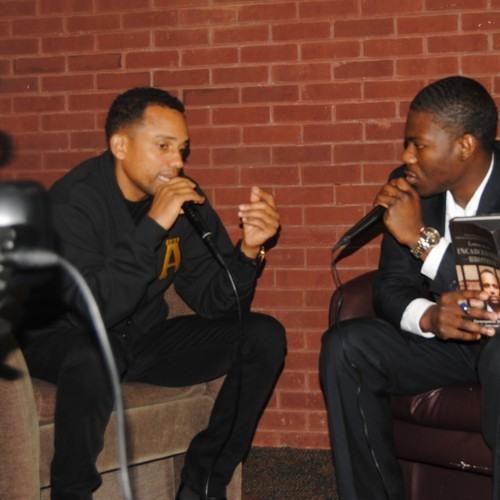 Dometi Speaks With Hill Harper
