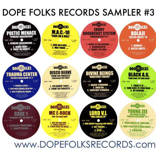 Dope Folks Records Sampler #3