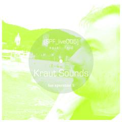 [SPF_live005] spiel:feld´s live operation with ... Kraut Sounds ● live operation II