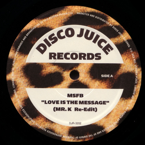 MFSB & The Salsoul Orchestra - Love Is The message (Danny Krivit Re-Edit)