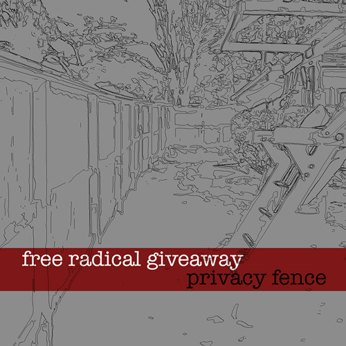 free radical giveaway - privacy fence
