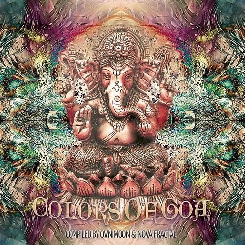 Kalindian  (Colors of Goa)  Timewarp/Ovnimoon Records