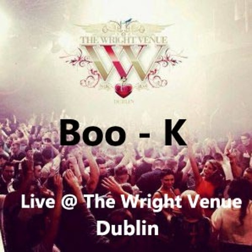 Boo - K   LIVE@THEWRIGHT VENUE