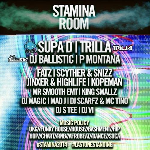 #Stamina2014 Afrobeats Mix @DJ_PMontana
