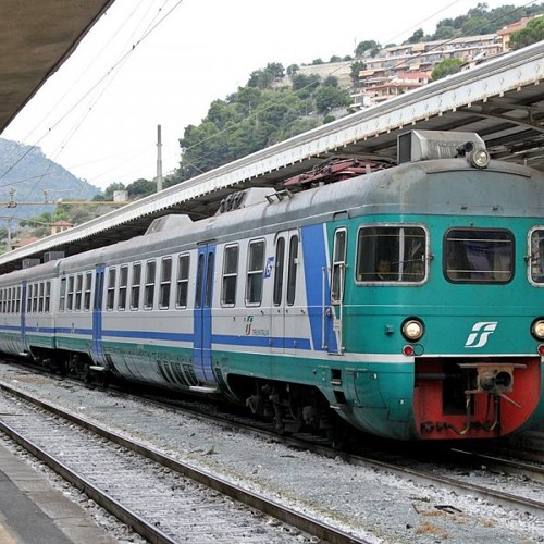 Fieldrecording - Train Journey from Florence SMN to Pontedera