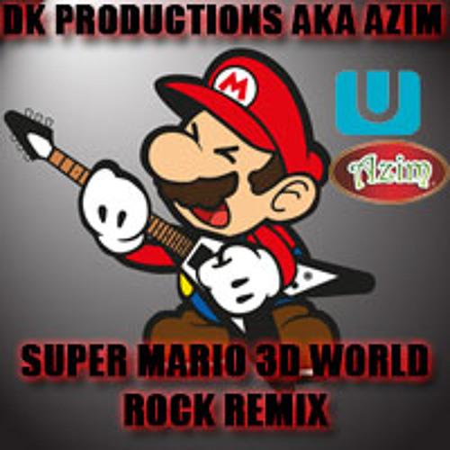 Super Mario 3D World Theme Rock Version by DK Productions