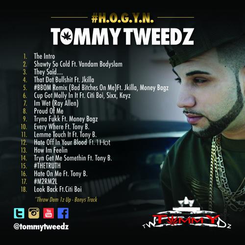 Tommy Tweedz - 8.Proud Of Me