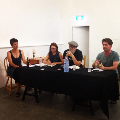 Making it Up: A forum on artist run initiatives in Perth