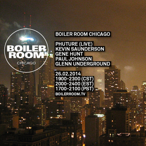 Phuture Boiler Room Chicago Live Show