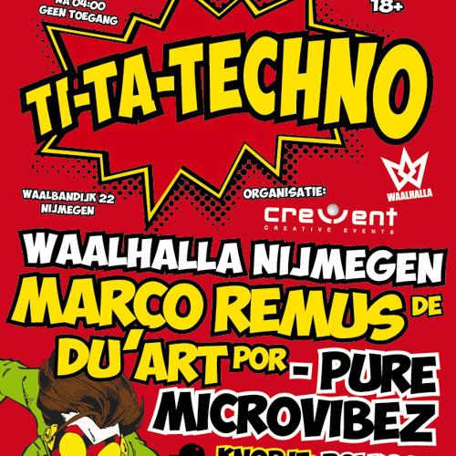 Marco Remus @ Ti - Ta - Techno 1 Feb 2014 MVP Recordings