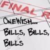***EXCLUSIVE*** Bills, Bills, Bills