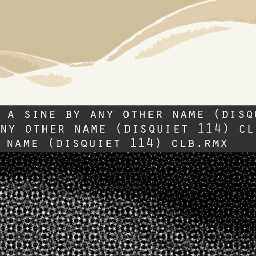 a sine by any other name [disquiet0114-60hz]