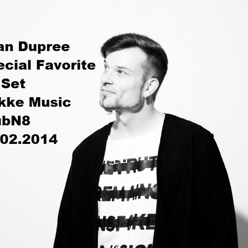 "Ryan Dupree ""Special Favorite Track Selection"" @ Hakke Music KlubN8 22.02.2014"