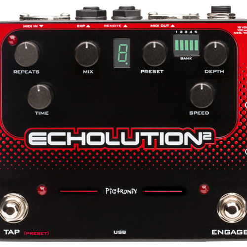 Echolution 2 Factory Preset Sound Samples by Steve Hunter