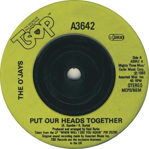 The O'Jays - Put Our Heads Together (Waxwork Edit)