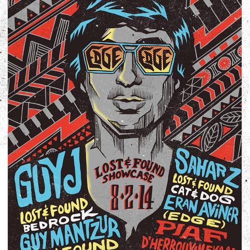 Guy Mantzur Live @ Lost & Found Showcase - EDGE- (Belgium)8.2.2014