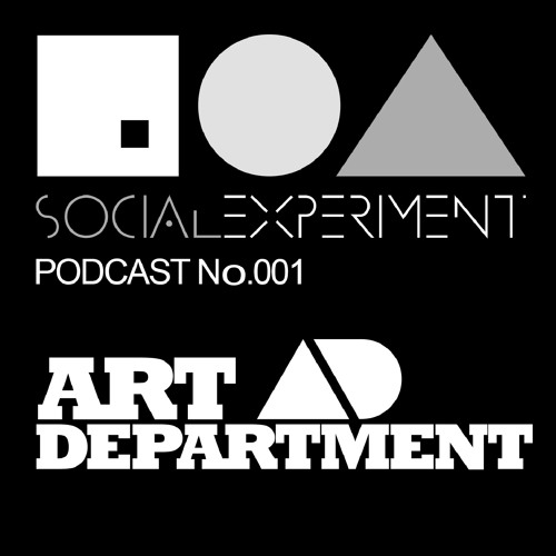 Social Experiment Podcast 001 Art Department Live @ The BPM Festival