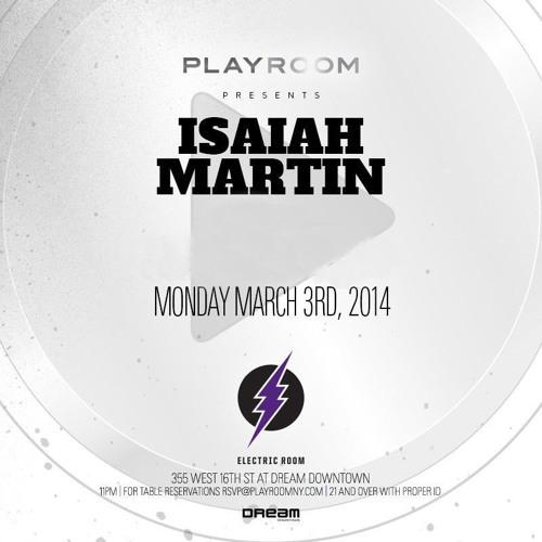 Isaiah Martin Live @Playroom NYC  VL