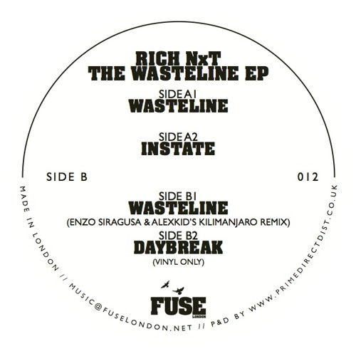 Rich NxT - The Wasteline EP