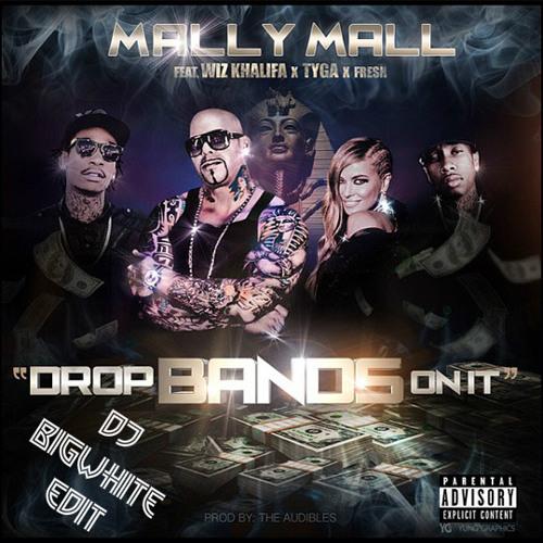 MALLY MALL FEAT. WIZ KHALIFA, TYGA & FRESH - DROP BANDS ON IT [DJ INTRO]