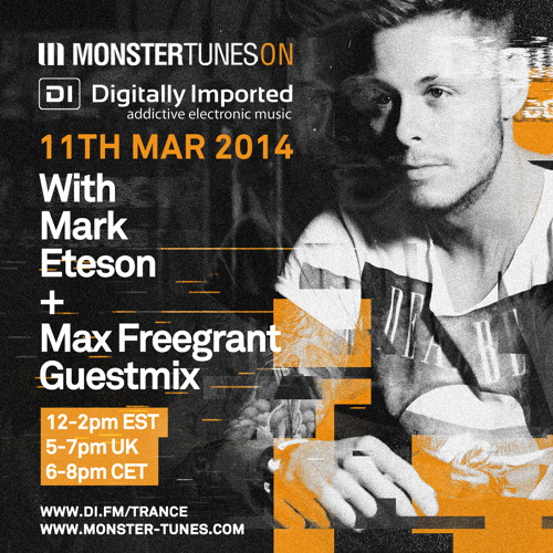 Monster Tunes 049 with Mark Eteson + Max Freegrant Guestmix