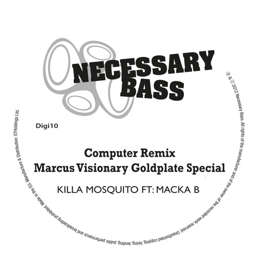 Killa Mosquito feat. Macka B - Computer (Marcus Visionary Goldplate Mix)
